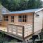 Casa de madera para jardín ALTURA (44 mm), 31 m² customer 1