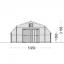 Garaje de madera TEXAS (44 mm), 6x6 m, 36 m² specification 2