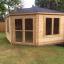 Caseta de jardín KIM 15 m² (5x3) 44 mm customer 2