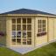 Caseta de jardín KIM 15 m² (5x3) 44 mm customer 1
