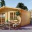 Caseta de jardín WISSOUS 25 m² (5x5) 34 mm visualization 1