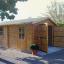 Garaje de madera 360x535 44 mm, 19.9 m² customer 3