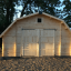 Garaje de madera BARN (44 mm), 5x6 m, 30 m² customer 1