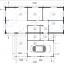 Casa de madera BERTA (66 mm), 72 m² + garaje 20 m² specification 1